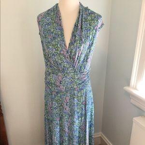 Anthropologie Maeve Floral Maxi Dress